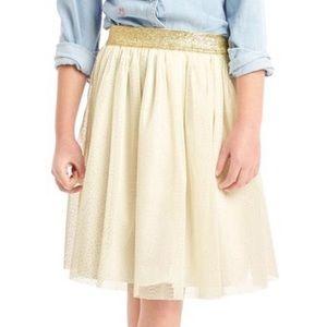 Gap Kids | Ivory Tulle Skirt - Size 10